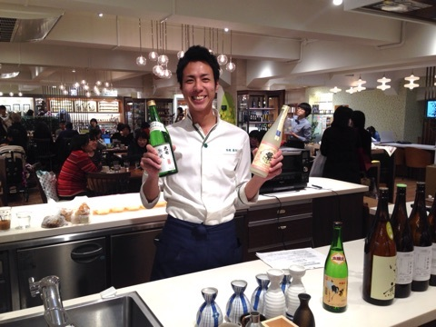 【セミナー】日本橋三越 Hajimarino Cafe 日本酒セミナー開催