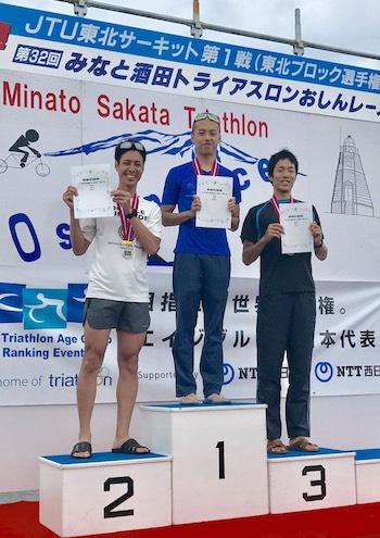 【スポーツ】第32回 みなと酒田トライアスロンおしんレース